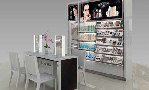 elegant-make-up-display-showcase-for-sale